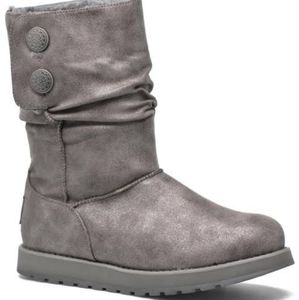 Skechers Keepsakes gray boots